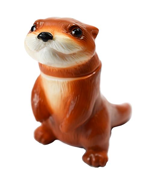 Micro Ollie Otter Kawaii gachapon size