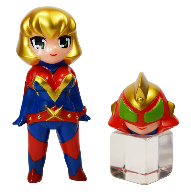 Lady Maxx Hero Mask & Face Super Hero