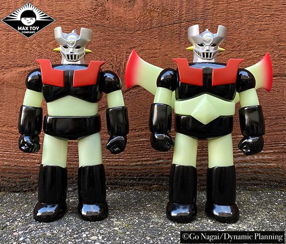 Mazinger Z Super Robot Go Nagai / Dynamic Pro licensed sofubi ( Wings version ) GLOW