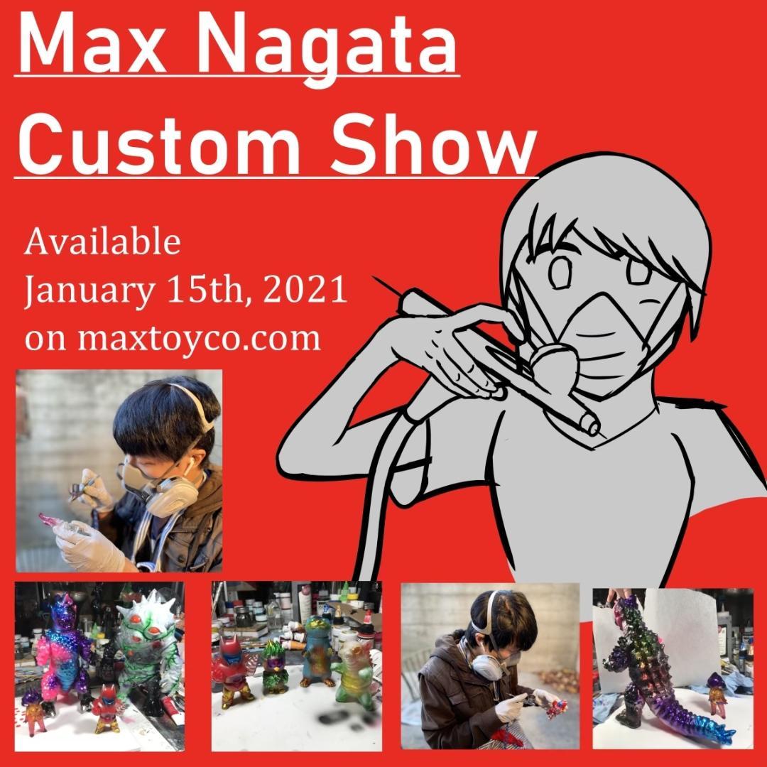 Max Nagata Custom Kaiju Show Green Drazoran custom