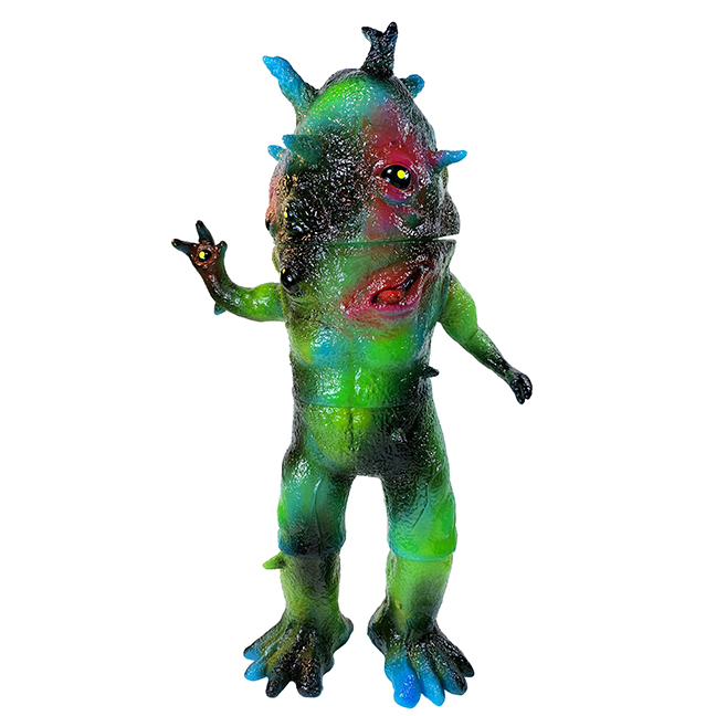 Kaiju Eyezon Giant sized Max Toy x Squibbles Ink / EW factory painted