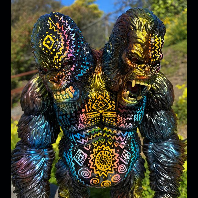 Custom Death Goliathon APE Planet-X x Mark Nagata kaiju