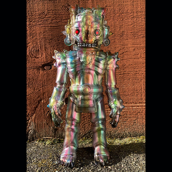 Mictlan produced by Frank Mysterio x Som Tawyer Toys Painted by Mark Nagata Drip 2