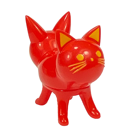 Trixi-Lu Cat soft vinyl figure Jelly Bean RED version