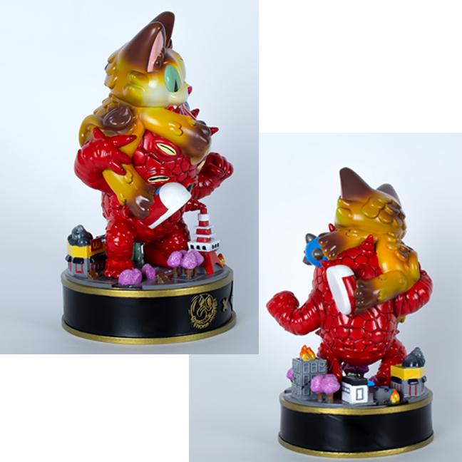 Pre Order - Kaiju Amigos BIG size Fully painted statue Javier Jimenez paints