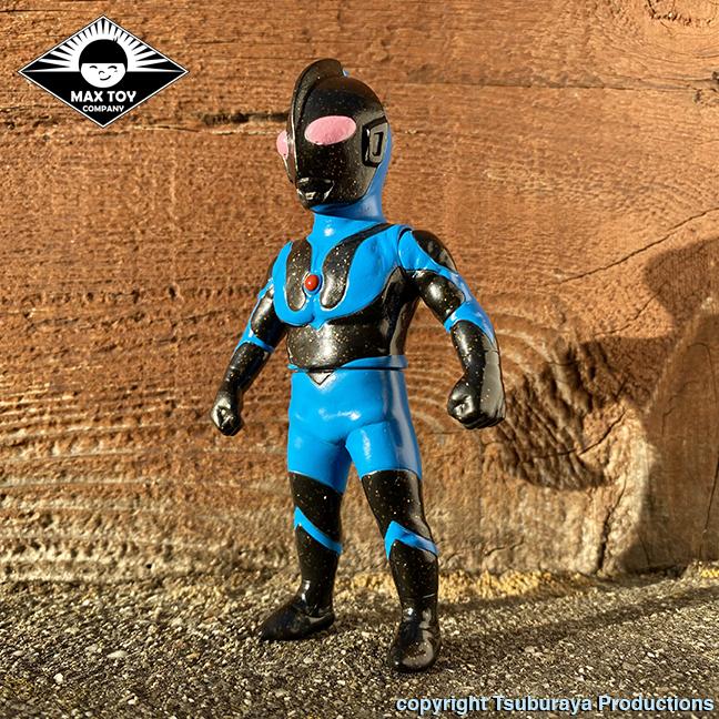 Ultraman Max Toy x Tsuburaya Productions Black Glitter