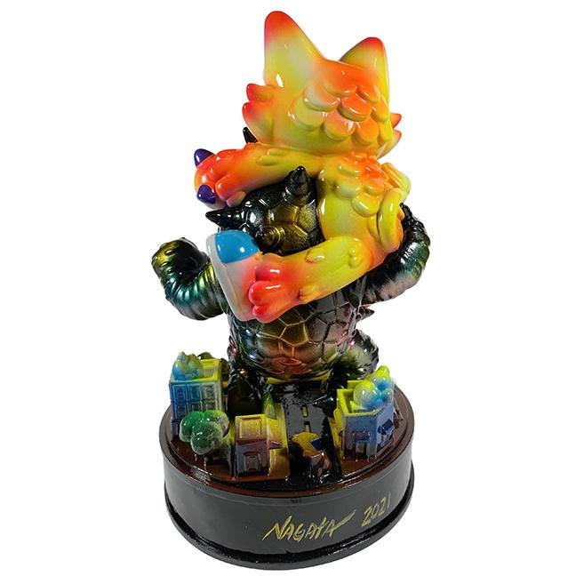 Kaiju Amigos Statue Painted by Mark Nagata