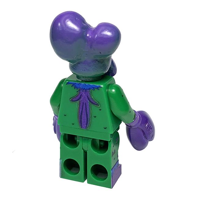 Alien Xam mini figure Custom printed Max Nagata