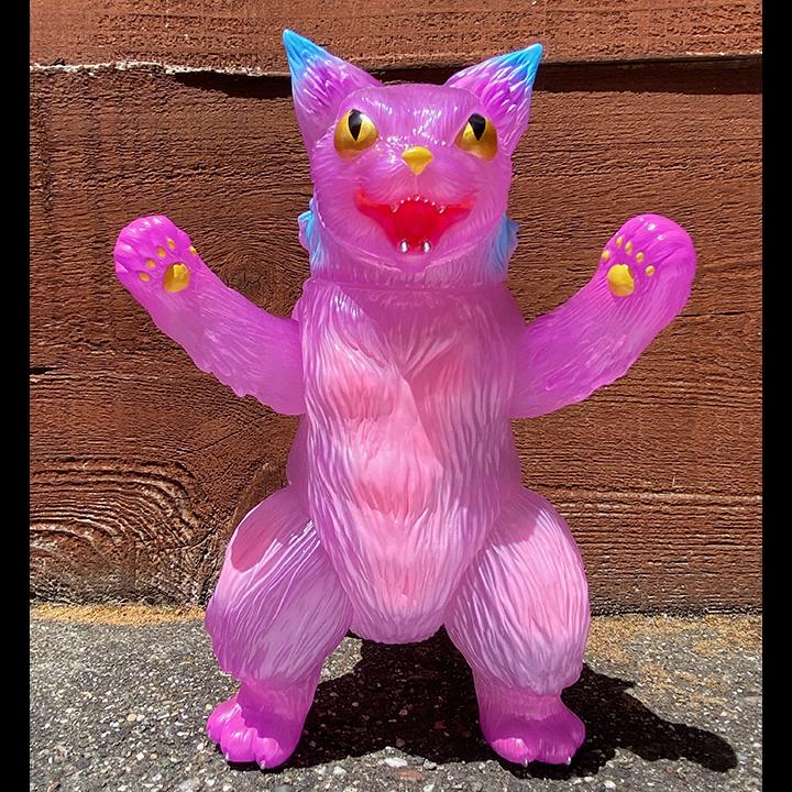 King Negora Kaiju Cat Sun Light color changes