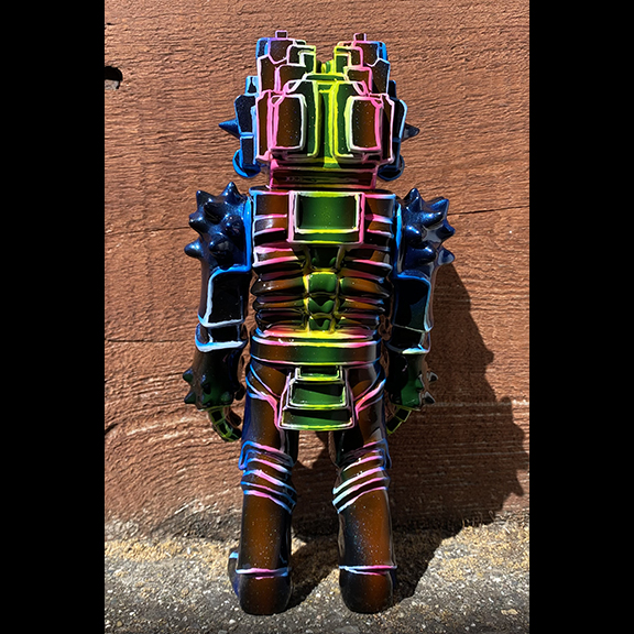 Mictlan produced by Frank Mysterio x Som Tawyer Toys Painted by Mark Nagata Eternals