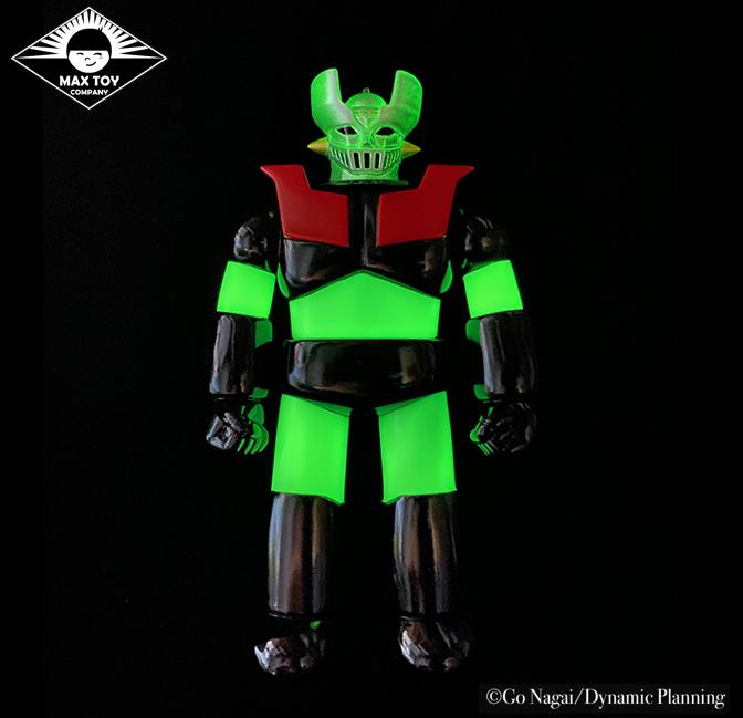 Pre Order - GLOW Mazinger Z Super Robot Go Nagai / Dynamic Pro licensed sofubi