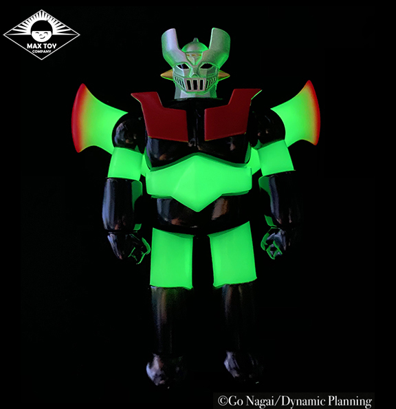 Pre Order - GLOW Mazinger Z Super Robot Go Nagai / Dynamic Pro licensed sofubi WINGS