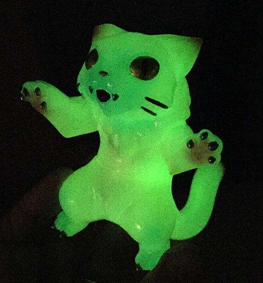 Cat Kaiju Nyagira Glow In Dark Max Toy Company