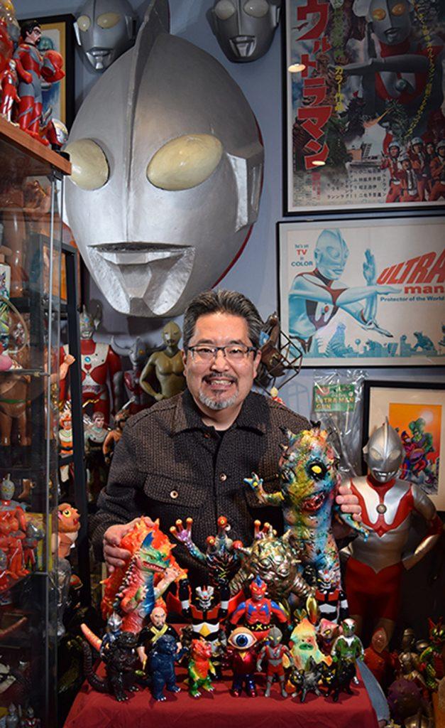Mark Nagata and his creations